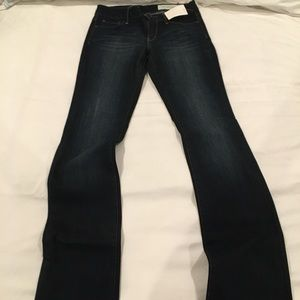 Nordstrom Treasure & bond bootcut jeans dark 27